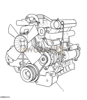 Complete Engine  25 NA  Find Land Rover parts at LR