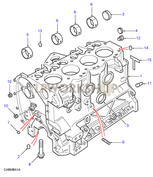 Cylinder Block  200Tdi  Find Land Rover parts at LR Workshop