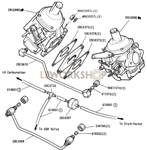 Carburetters and Fuel Pipes  109in V8 ECE 1503  Find