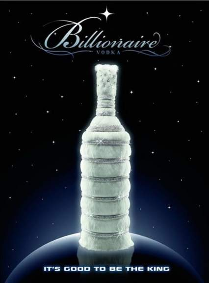 Image result for billionaire vodka