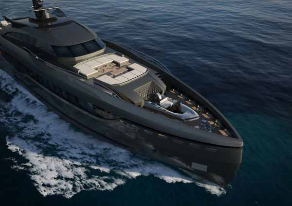 Columbus Sport Hybrid Superyacht Ready for its Russian Owner