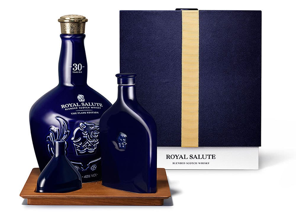 Celebrate With The Royal Salute 30 Year Old The Flask Edition