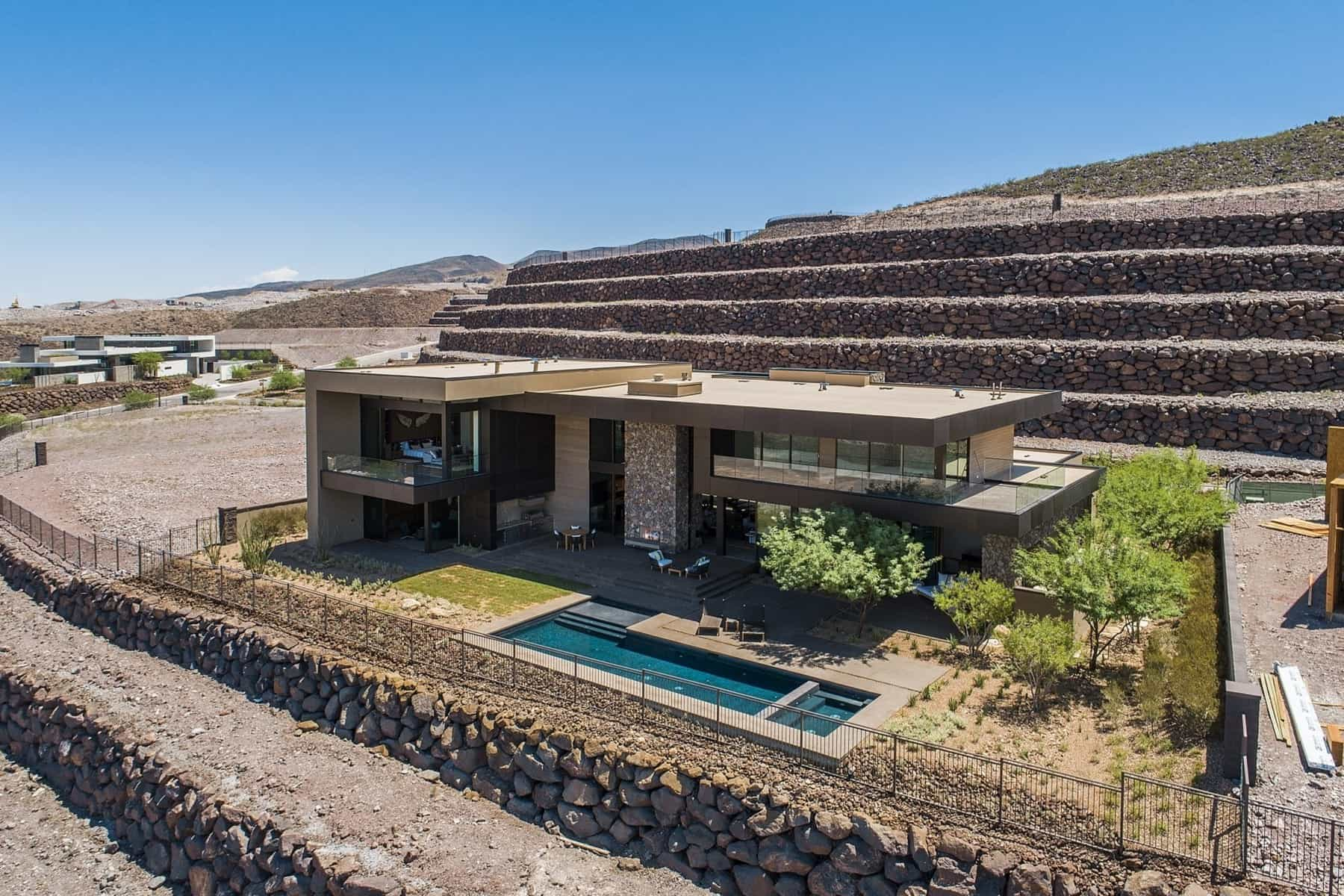 Contemporary Ascaya Estate Awaits For You Just Outside Las