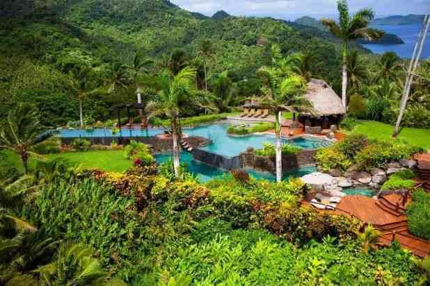 Hilltop Villa at the Laucala Island Resort