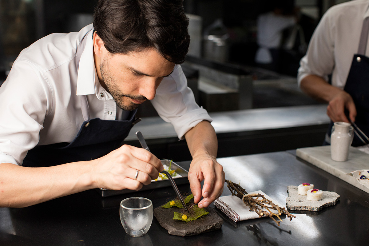 luxe digital mobile optimised website fine dining restaurant pre launch marketing strategy chef martinez