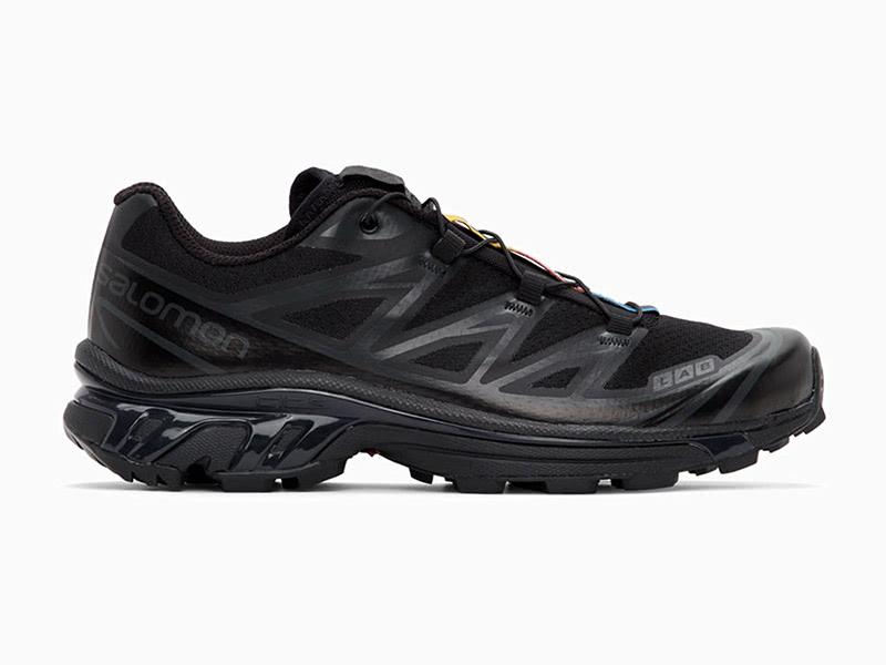 Salomon black limited edition XT 6 men most comfortable sneakers - Luxe Digital