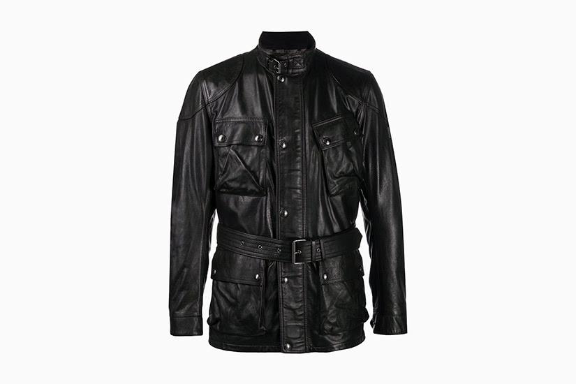 best leather jackets men belstaff belted jacket luxe digital