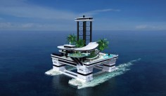 Portable Private Island