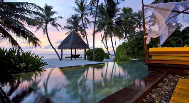 One&Only Reetih Rah : Un resort isolé sur une île privée des Maldives