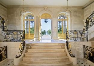 Escalier en marbre Chaâteau Louis XIV