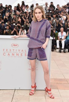 Lily-Rose au Festival De Cannes