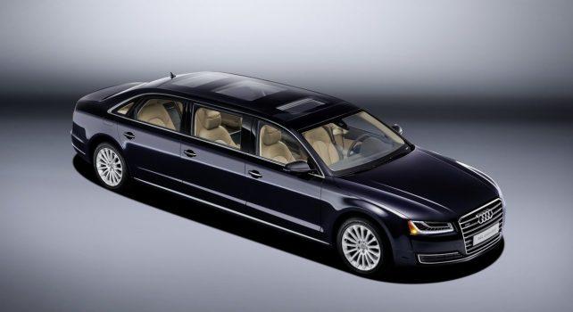Audi A8 extender : La limousine allemande pour privilégiés