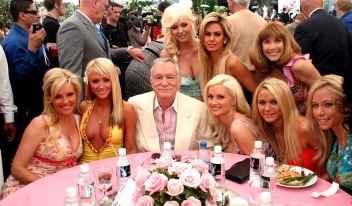 Hugh Hefner et ses playmates
