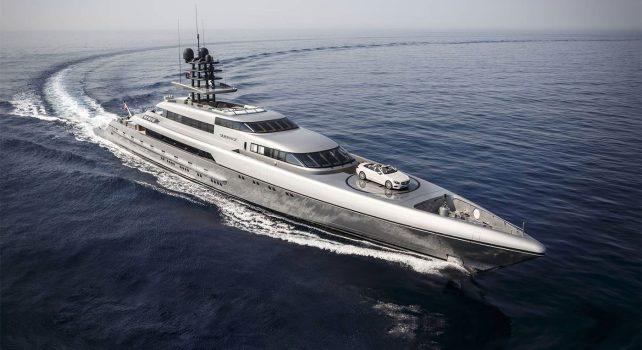 Espen Oeino SILVER FAST : Le superyacht le plus grand et le plus rapide du monde