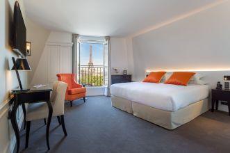 Hôtel La Comtesse Paris Chambre