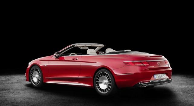 Mercedes-Benz S 650 : La marque dévoile la première Maybach cabriolet