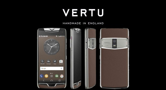 Vertu Constellation : Le retour du smartphone de luxe
