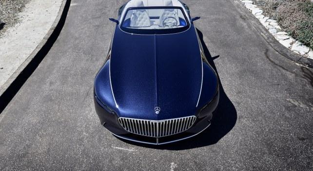 Mercedes Maybach 6 Cabriolet : Faire du classique le futur de l'automobile