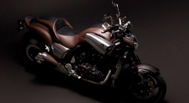 Yamaha V-Max : La moto réalisée par John Reed revisitée par Hermès