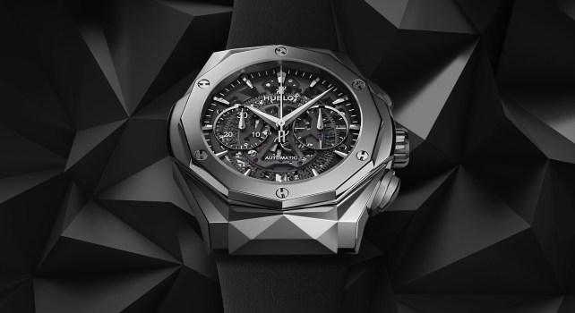 Hublot Classic Fusion Aerofusion Chronograph Orlinski : Quand le monde de l'Art rencontre celui de l'Horlogerie