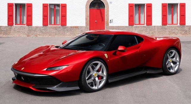 Ferrari SP38 : Une version unique conçue par le département de personnalisation du constructeur