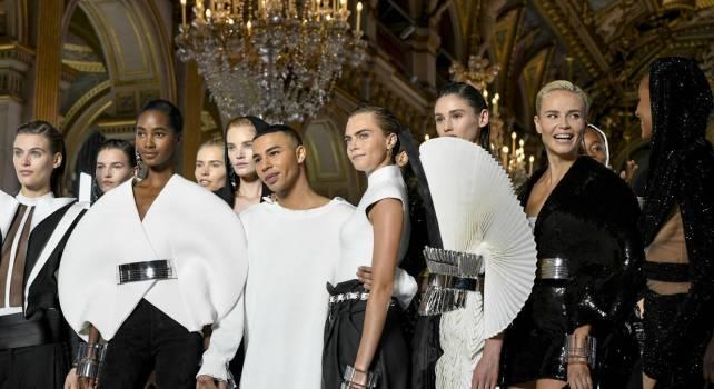 Balmain Printemps – Été 2019 : Quand l'Égypte rencontre Paris