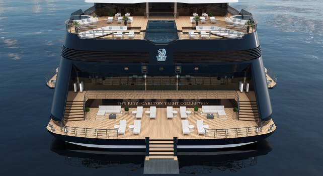 Azora : Le premier yacht ultra-luxueux par The Ritz-Carlton