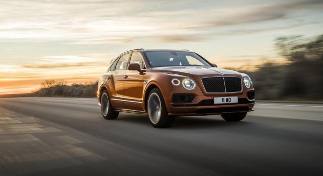 Bentley Bentayga Speed : Le SUV de luxe le plus rapide du monde