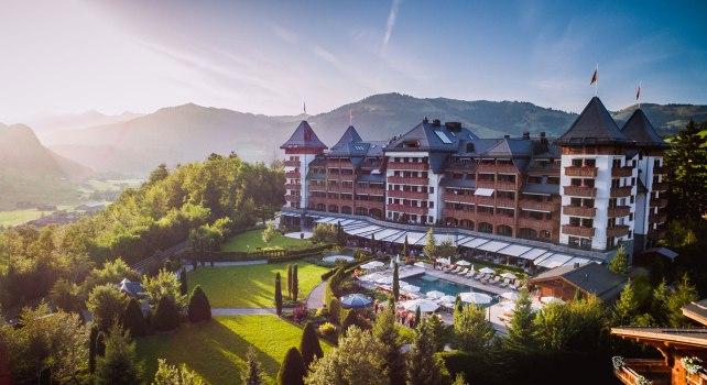 Alpina Gstaad : Elu hôtel de l'année 2019