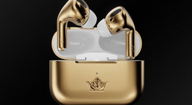 AirPods Pro x Caviar : Une Gold Edition des écouteurs Apple à $67.760