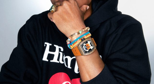 Richard Mille 52-05 : Une collaboration exclusive avec Pharrell Williams