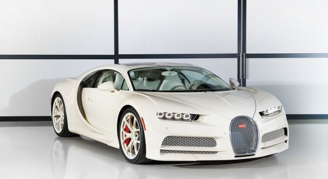 Bugatti x Hermès Chiron : Un modèle unique au summum du luxe