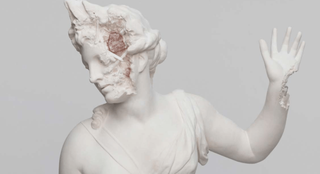 Daniel Arsham Paris 3020 : Une exposition futuriste sous l'aile Perrotin