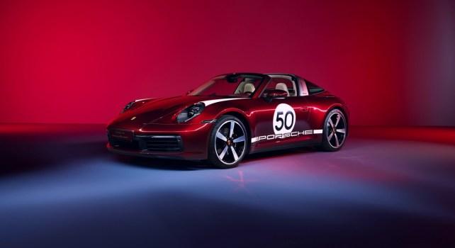 Porsche 911 Targa 4S Heritage Design Edition : Hommage au passé du constructeur allemand