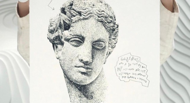 Daniel Arsham : L'archéologie fictionnelle de l'artiste pour la première fois en prints