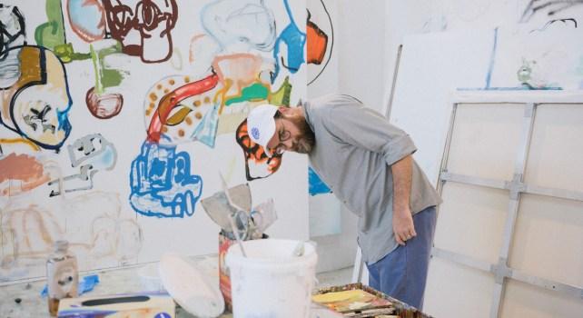 Eddie Martinez : Artiste de l'ombre et peintures de lumière