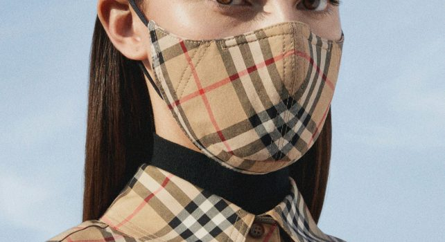 Burberry : La maison lance ses masques de protection