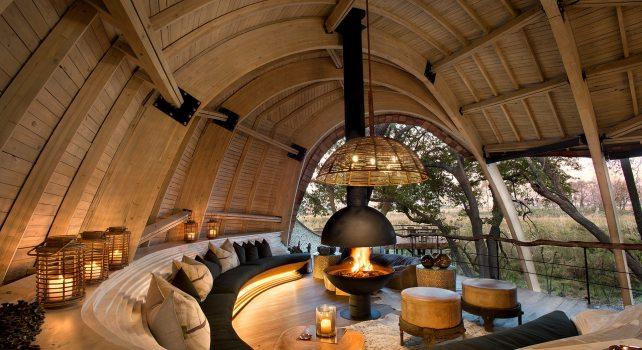 Sandibe Okavango Safari Lodge : Un site authentique aux inspirations sauvages