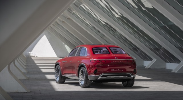 Vision Mercedes-Maybach Ultimate Luxury : Un modèle Mi SUV, Mi Berline