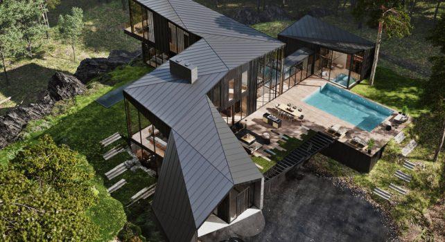 Sylvan Rock : Une maison privée pensée par Aston Martin