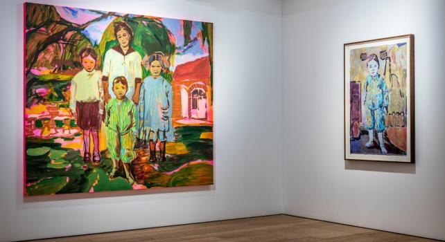 Claire Tabouret «Siblings» : Une série de portraits résolument tournée vers l'union et la coopération