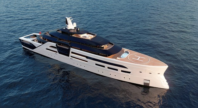 T.Fotiadis Ultra2 : Un yacht construit tel un véritable fort des mers
