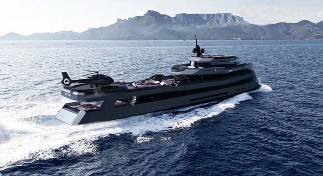Nzuri Expedition Yacht : Le premier navire conçu par Kyron Design