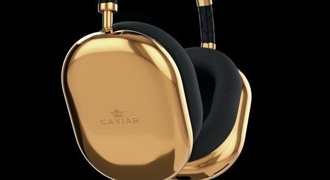 AirPods Max x Caviar : Le casque Bluetooth signé Apple vendu $108,000