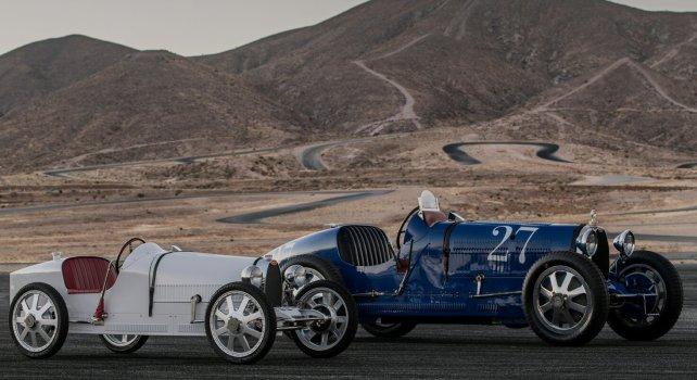 Bugatti Baby II : Les enfants peuvent aussi rouler en voiture de luxe