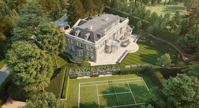 Hampton Hall : Achetez ce luxueux manoir dans la province londonienne
