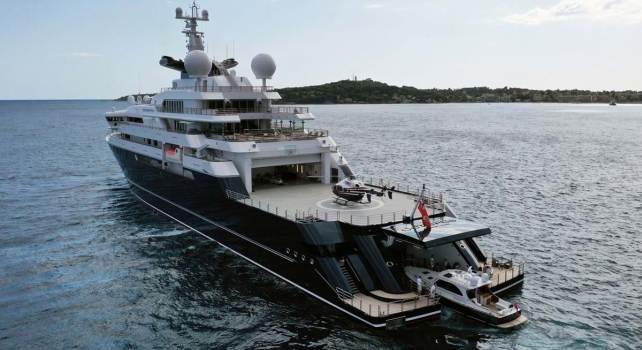 Burgess Octopus : Un superyacht de 126 mètres de long vendu 235 millions d'euros