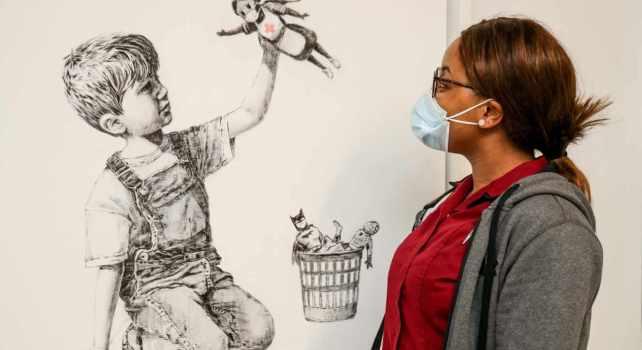 Banksy : Une œuvre vendue 19,4 millions d'euros pour venir en aide aux services de santé britanniques