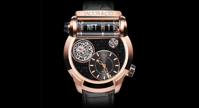 Jacob & Co. : L'horloger de luxe s'apprête à vendre aux enchères la première montre NFT au monde