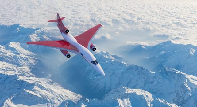 Aerion AS3 : Un avion supersonique qui pourra relier Londres et New-York en moins d'une heure
